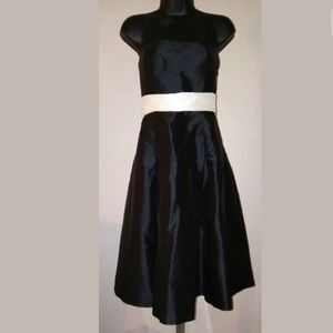 Ralph Lauren Silk Strapless Formal Dress